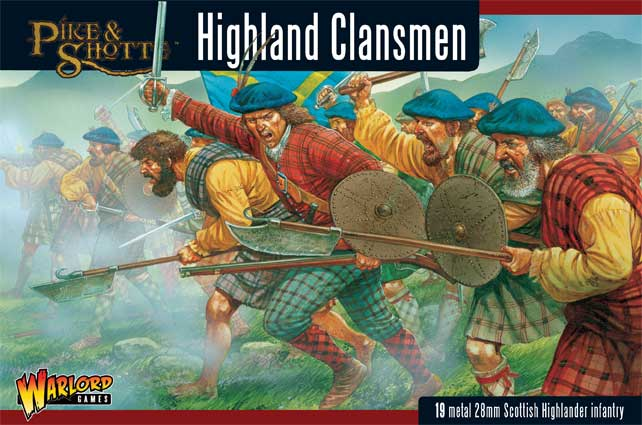 Highland Clansmen Boxed Set Cover