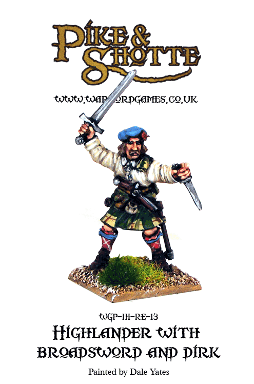 Highlander with Broadsword and Dirk