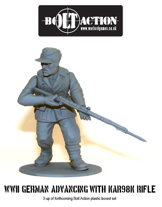 Plastic Bolt Action Germans 4