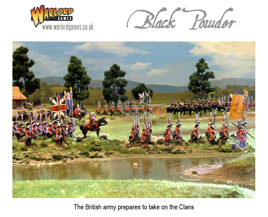 The British Army prepares to take on the Clans.