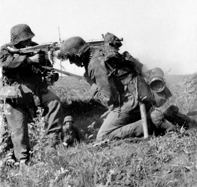 Waffen-SS HMG Team