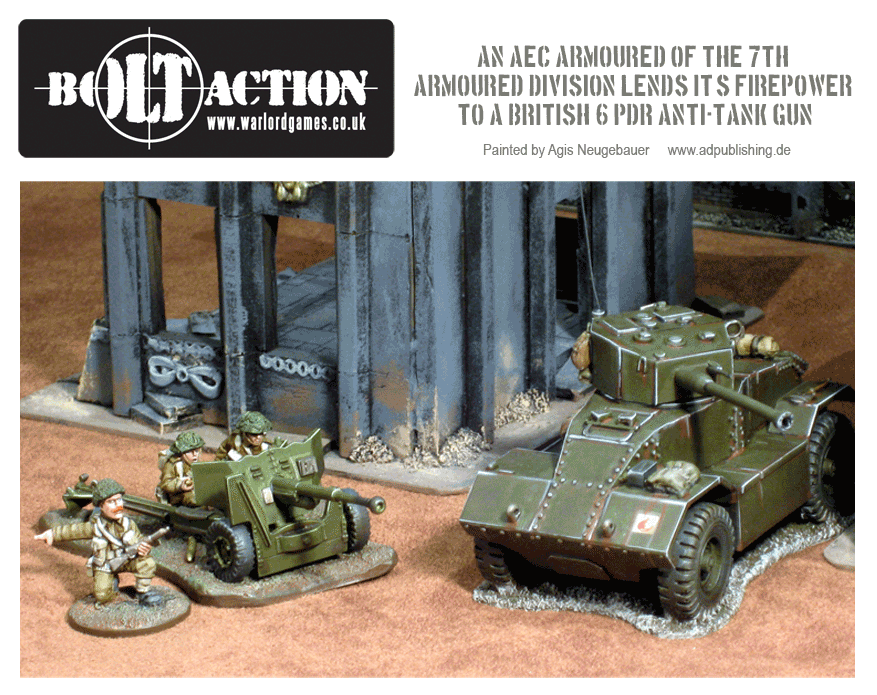 Agis Neugebauer's AEC Armoured Car Section