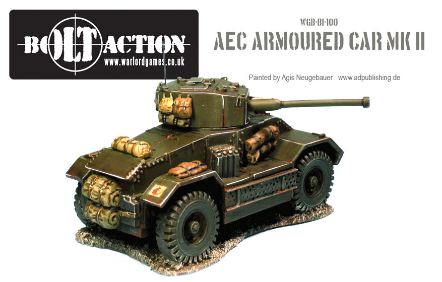 Agis Neugebauer's AEC Armoured Car Back