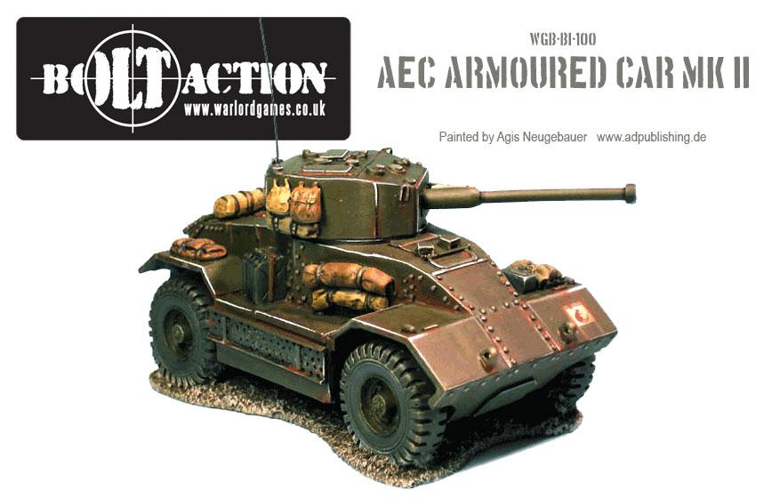 Agis Neugebauer's AEC Armoured Car Front