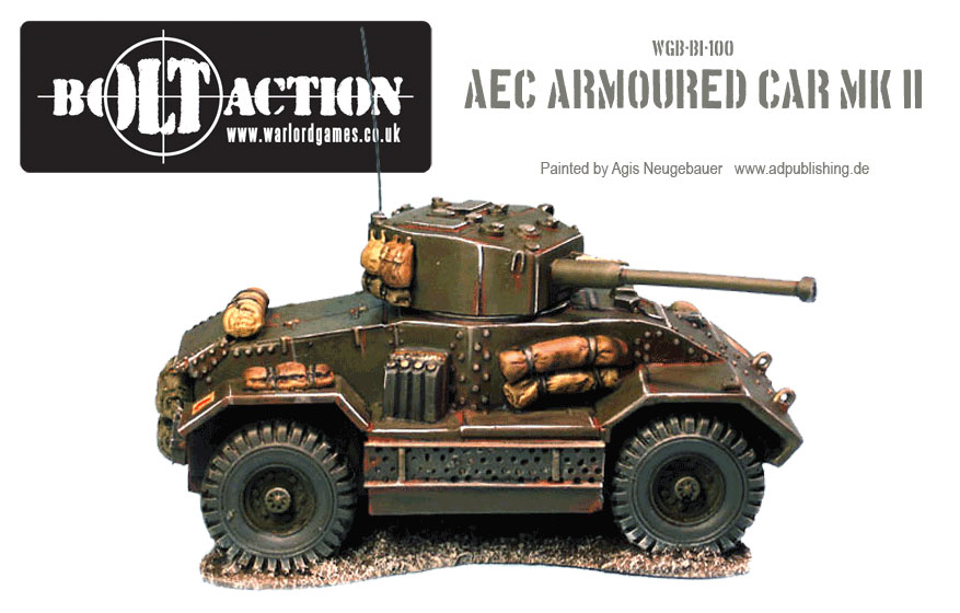 Agis Neugebauer's AEC Armoured Car Side