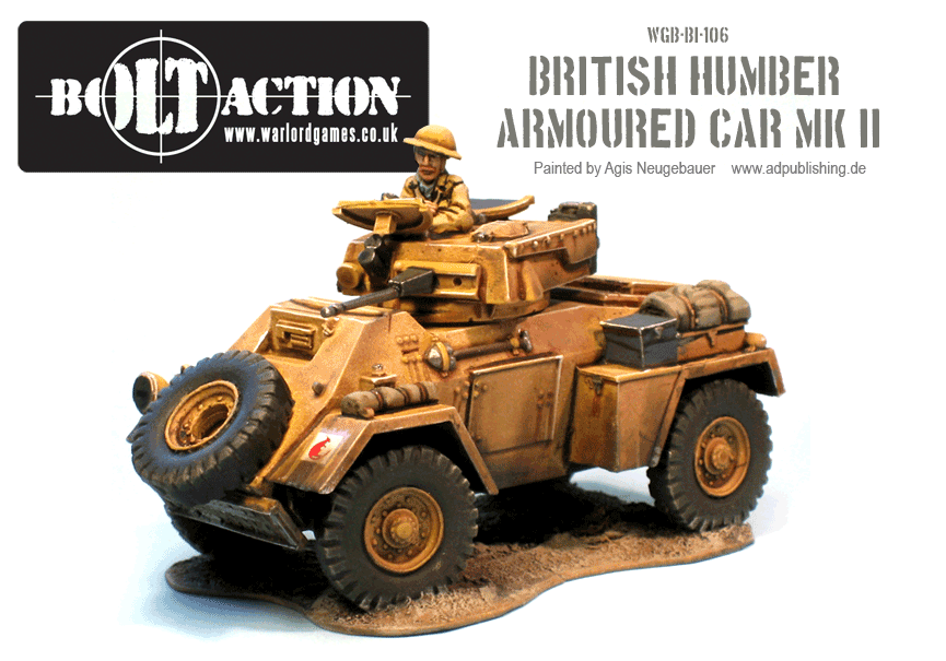 Agis' Humber Armoured Car MK II