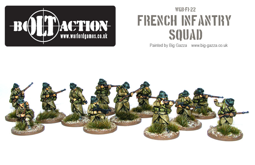 Bolt Action French Squad