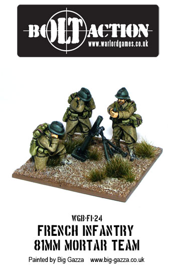 Bolt Action French Mortar