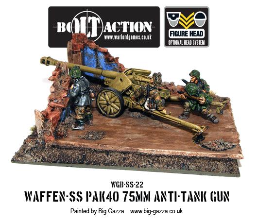 Waffen-SS PAK 40 75mm Anti-Tank Gun 1