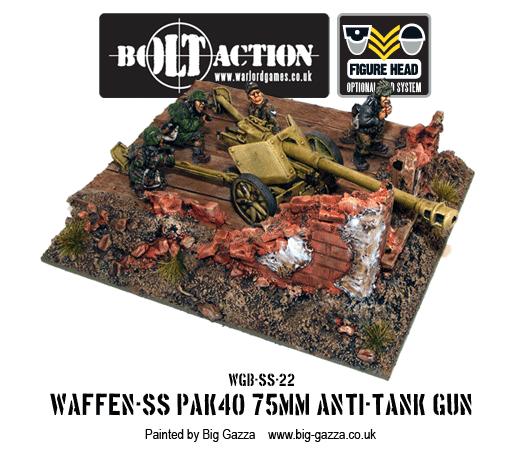 Waffen-SS PAK 40 75mm Anti-Tank Gun 2