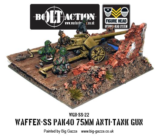Waffen-SS PAK 40 75mm Anti-Tank Gun 3