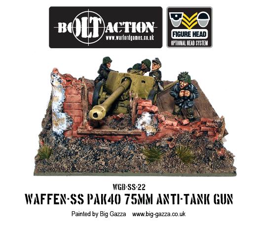 Waffen-SS PAK 40 75mm Anti-Tank Gun 4