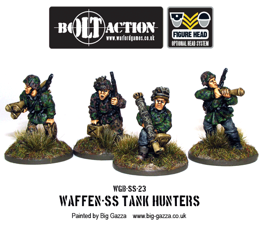 Bolt Action Waffen-SS Tank Hunters