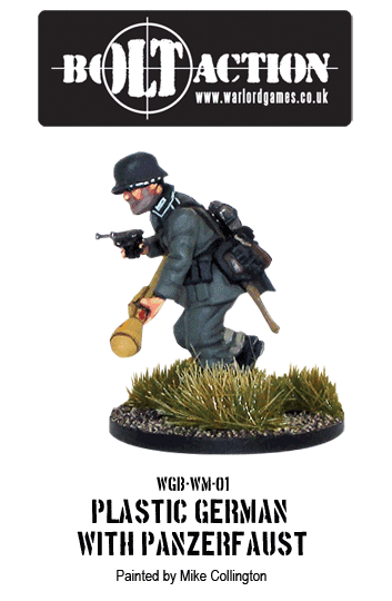 Plastic Bolt Action German Infantry with Panzerfaust