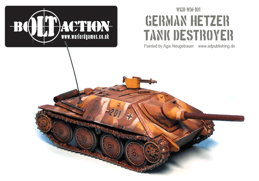 Agis' German Hetzer 1