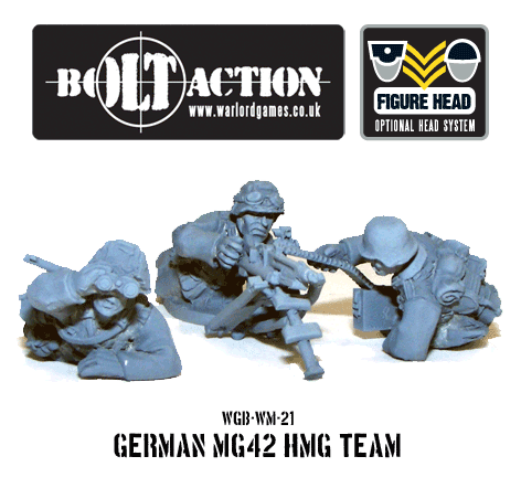 German MG42 HMG Team 2