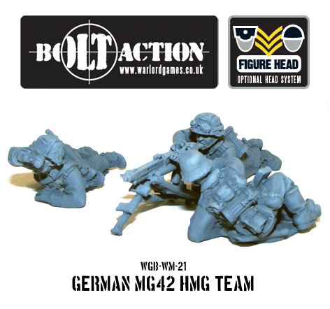 German MG42 HMG Team 3