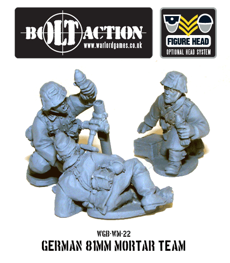 German 81mm Mortar Team 1