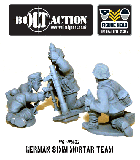 German 81mm Mortar Squad 2