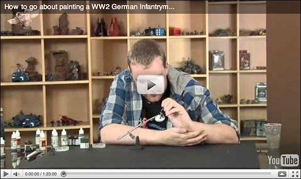 Beasts of War German Painting Video