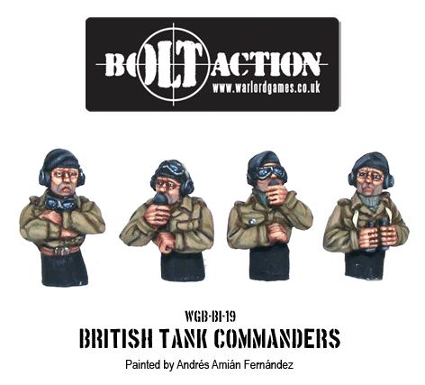 British Vehicle Commanders