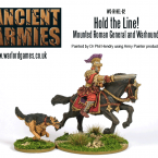New: Hold The Line! Mounted Roman General And Warhound!