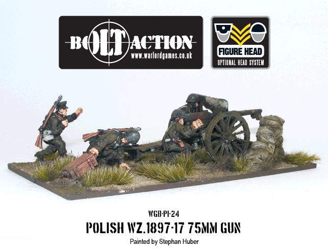 Polish WZ.1897-17 75mm Gun
