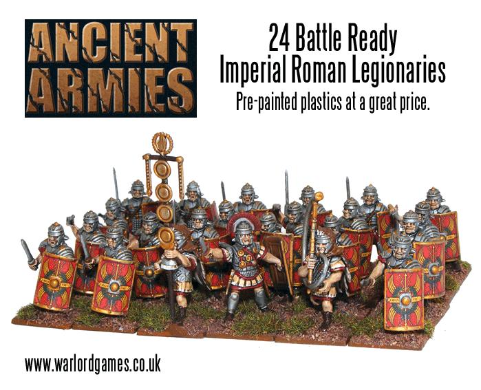 Pre-painted Legionaries