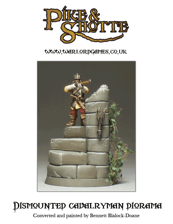 Dismounted-cavalryman-diorama-front