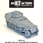 New: Sd.Kfz 251/23 Halftrack!