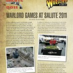 Report: Warlord At Salute!