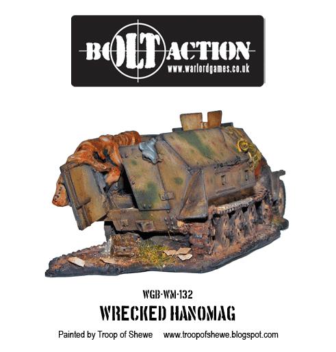 Wrecked Hanomag
