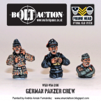 New: Bolt Action Panzer Crews!