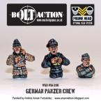 New: Bolt Action Panzer Crews!