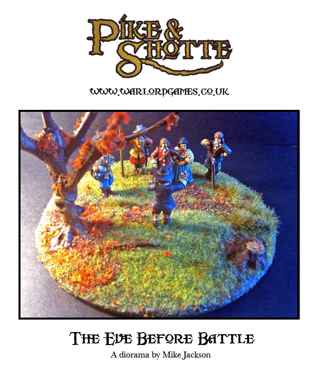 Eve of Battle Diorama