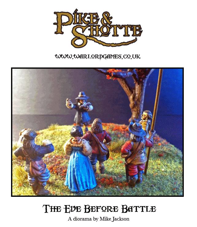 Eve of Battle Diorama
