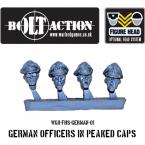 New: Bolt Action German Figure Heads!