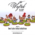 New: Wojtek's Dwarf Lady Footballers!