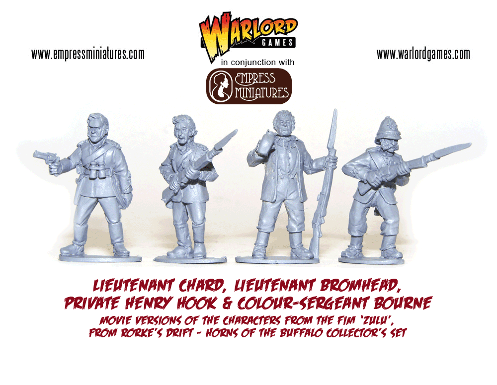 warlord games HotB-Movie-characters