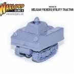New: Belgian Vickers Utility Tractor!