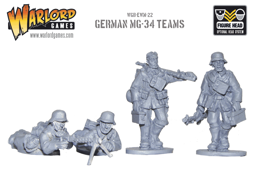 warlord games WGB-EWM-22-MG34-teams