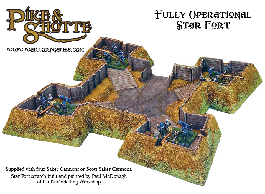 warlord games FO-Star-Fort