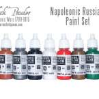 New: Napoleonic Russian paint set