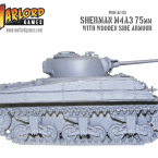 New: Wooden Sherman tanks!