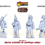 New: Anglo-Zulu Wars British Soldiers on campaign march!