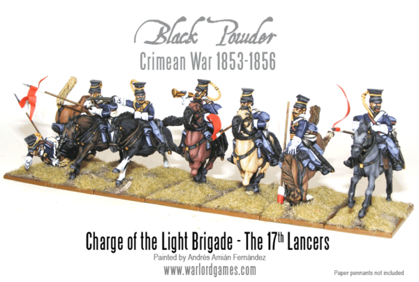 Charge of the Light Brigade - 17th Lancers