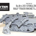New: Sd.Kfz 251 'Stuka zu fuss' half track!