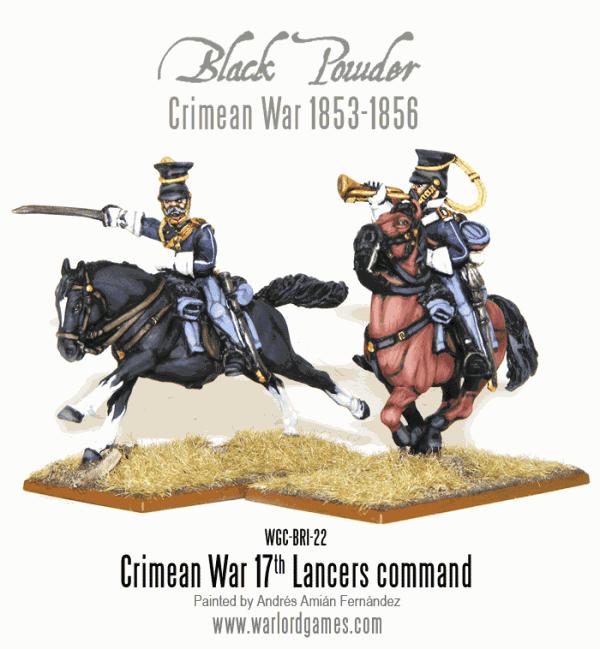 Crimean War 17th Lancers Command
