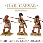 New: Spartans in linen armour!