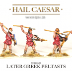 New: Greek Peltasts!